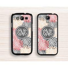 chrysanthemum Samsung case,gift samsung Note 3 case,monogram samsung Note2 case,elegant samsung Note 4 case,girl's Galaxy S3 case,geometrical flower Galaxy S4 case,art flower Galaxy S5 case - Samsung Case
