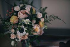 Vintage Elegance Bridal Bouquet, Real Wedding by Something Blue Floral Design, October 2016, Photography by Ruthless Images
