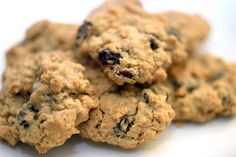 I love the smell and taste of warm oatmeal raisin cookies... something about all the spices in them make them seem more homey than chocolate chip.