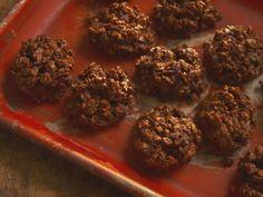 Chocolate Toffee No-Bake Cookies recipe from Nancy Fuller via Food Network