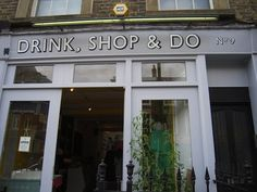 Drink, shop & Do. Teas and more. King's Cross.