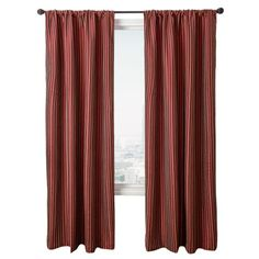 Diplomat Decor Morrison Stripe 96Inch Rod Pocket Panel Merlot Gold -- Find out more about the great product at the image link.