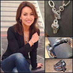 Lisa Robertson QVC Facebook | the chain necklace, {http://qvc.co/CrocoChain}, the cuff, {http://qvc ...