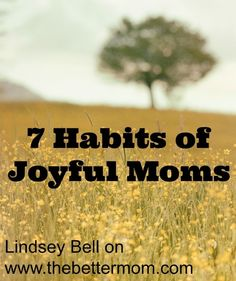 What can we do when the dishes, laundry, and never-ending chores threaten to steal our happiness…when the constant bickering between children leaves us longing for bedtime…when motherhood (that we always thought we'd love) isn't everything we imagined it to be? We fight for Joy. Here are 7 ways to start today.