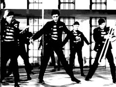 "GIF: Iconic video ""Jailhouse Rock"""