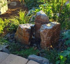 Decorative fountains add the wow factor to any outdoor area. From fire fountains, spillways and disappearing fountains you will find the perfect addition to your space!