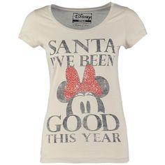 T-Shirt mit Strasssteinen - Süßes T-Shirt in Weiß von Only. Warst Du dieses Jahr auch immer brav? Dann belohn Dich doch mal selbst und schnapp Dir dieses niedliche Shirt! - ab 21,95€