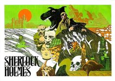 Sherlock Holmes by Jim Steranko. I have no idea if there's a Sherlock Holmes comic book, but there certainly should be.