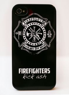 Firefighters phone case