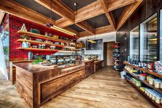 A full-on butcher shop and sandwich counter by way of NYC...