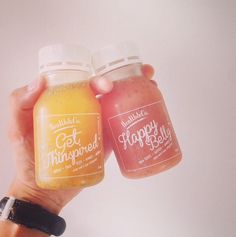 Get Thinspired and Have a Happy Belly with these chia seed drinks from @healthandco.id. Location: Jakarta