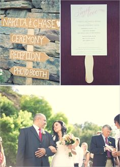 our free wedding programs in action!