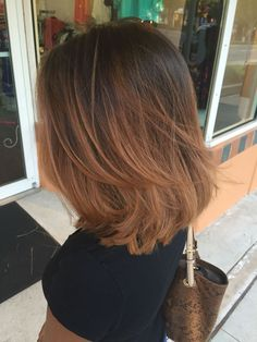 Short Layered Bob Haircuts Haircuts Bob Short Layered Bobs Medium Short Hair With Layers Lob Layered Straight Ombré Layered Long Bob Textured Haircuts For Fine Hair, Straight Hairstyles, Trendy Hairstyles, Hairstyles 2016, Wavy Haircuts, Haircut Thin Fine Hair, Choppy Bob Hairstyles Messy Lob, Short To Medium Haircuts, Fine Hair Cuts