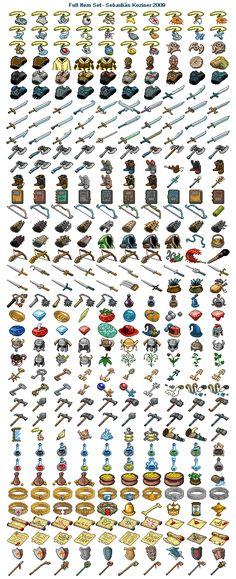 Mazes of Fate - Full Item Set Icon, Pixel Art, Buddy Icons, Forum Avatars