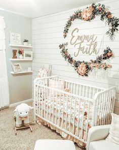 Baby Room Themes, Baby Boy Rooms, Baby Room Decor, Baby Girl Bedroom Ideas, Baby Nursery Ideas For Girl, Toddler Girl Bedrooms, Unisex Nursery Ideas, Nursery Room Ideas, Baby Girl Shower Decorations