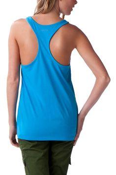 NO SWEAT TANK: Lagoon Blue #OakleyWomen #Oakley #summer #singlet #racerback #blue