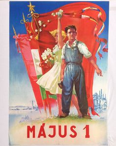 Budapest Poster Gallery is based in Budapest, Hungary, dealing in all kinds of original vintage posters and ephemera, offering worldwide shipping. Communist Propaganda, Propaganda Art, Budapest, Dj Yoda, International Workers Day, Restaurant Pictures, Romantic Night, Flower Aesthetic, Retro Ads