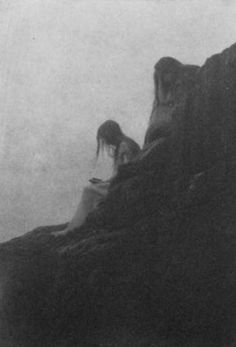 souls of the weeping rock, 1910 - by anne brigman. Keep telling yourself this truth, you are not forgotten, never alone...