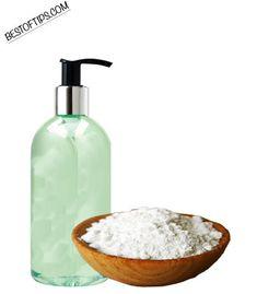 Clarify scalp with Exfoliating shampoo - baking soda and shampoo