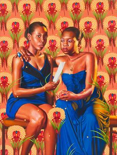 Find the latest shows, biography, and artworks for sale by Kehinde Wiley. Working exclusively in portraiture, Kehinde Wiley fuses traditional formats and mot… Art Afro, Kehinde Wiley, Seattle Art Museum, African American Art, American Life, African Women, American Artists, African Fashion, Black Artists