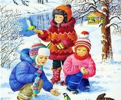 Playing in The Snow (80 pieces)