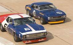 SCCA Javelin 304, and Z-28 302...