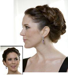 Crown Princess Mary, Hair Updo
