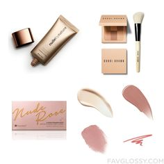 Makeup Wishlist Featuring Nude By Nature Makeup Bobbi Brown Cosmetics Eyeshadow And Burberry Makeup From June 2016 #beauty #makeup