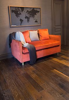 Hand Scraped White Oak - Aged Oak UV Urethane Oil by Muskoka Hardwood Flooring #hardwood #handscraped #whiteoak