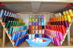 Craftsy Instructors share top tips for organizing your sewing room.