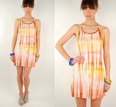 i like the dye and colors used in this dress