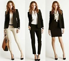 How to Dress for The Office. Love the length of the pants. will fit perfect for short people. me