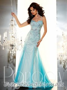 Enchanting and Flattering #Tulle #SweetheartNeckline Trumpet Long #PromGown by #Panoply Style 14631~ MSRP: $555.23 Guaranteed Low Price: $488.00 (You save $67.23) (http://www.everythingformals.com/Panoply-14631/)