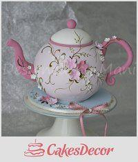 CakesDecor Theme: Teapot Cakes - CakesDecor