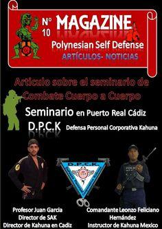 Revista magazine nº 10 Seminario de Defensa Personal Cuerpo a Cuerpo