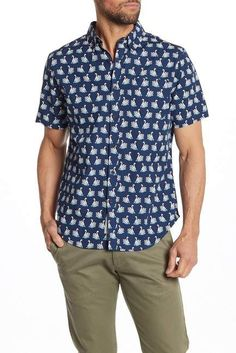 c968c8d16 WALLIN & BROS Hawaiian Short Sleeve Performance Fit Shirt | Products