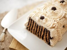Icebox Caramel Cake