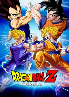 Poster Dragon Ball Z: Vegeta VS Goku by Dony910 on @DeviantArt