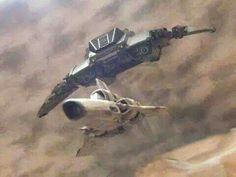 Cylon Raider vs Colonial Viper - Battlestar Galactica (1978-79)