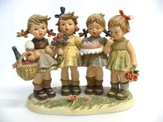 Orginal Hummel / Goebel figur Century Collection Wir wünschen Dir das Beste Hum 600 Größe 21 cm Top Zustand unbeschädigt mit Certifikat $850.00