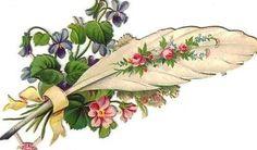 http://glanzbild.blogspot.com.ar/2014/03/feder-mit-blumen-fether-with-flowers.html
