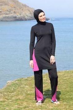 Image result for ملابس سباحة للمحجبات