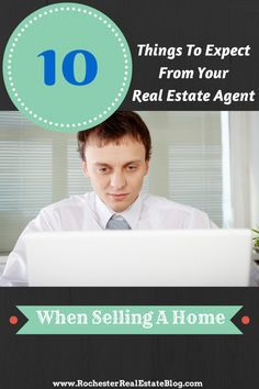 10 Things to Expect From Your Real Estate Agent When Selling Your Home - http://rochesterrealestateblog.com/10-things-expect-real-estate-agent-selling-home/ via @KyleHiscockRE #realestate #homeselling #realtor