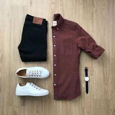 New Style Mens Casual Moda Masculina Ideas Business Casual Men, Men Casual, Casual Jeans, Casual Menswear, Casual Shirt, Smart Casual, Mode Outfits, Casual Outfits, Casual Attire