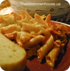 Olive Garden Mostaccoli - The dish you serve after denting the car | The Little Brown House.