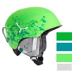 Casca ski si snowboard Cebe Matte Green imbina performanta cu un design indraznet! Culorile vesele si designul modern va scot in evidenta pe partia de ski. Sistem de reglare a marimii va ajuta la o ajustare cat mai buna a castii in orice moment al zilei iar constructia in mulaj asigura o rezistenta mare si o absortie superioara a socurilor. Bicycle Helmet, Skiing, Green, Molde, Cycling Helmet, Ski