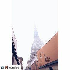 #Repost cappiee per #inTO #torino #turin #cityscape #mole #fog