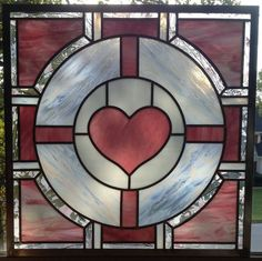 Geek Art Gallery: Crafts: Stained Glass Companion Cube