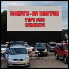 drive-in movie tips for families!