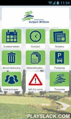 Gemeente Gulpen-Wittem  Android App - playslack.com , Officiële app van de gemeente Gulpen-Wittem met onder andere contact en openingstijden, evenementen, het laatste nieuws, afvalinformatie, bekendmakingen, parkeren enz.